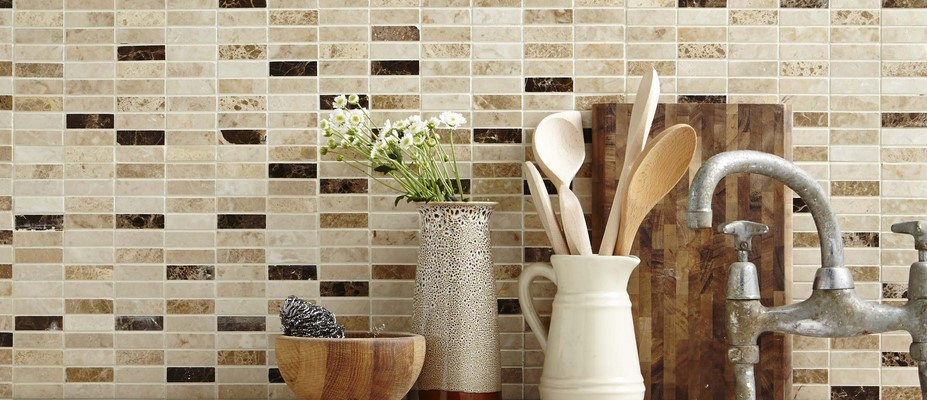 Glass Mosaic Tiles Adelaide Kitchen