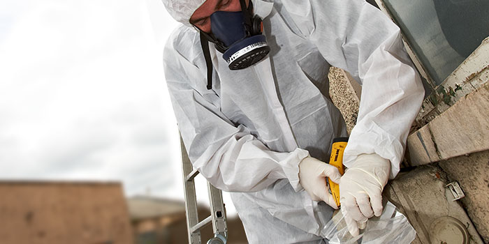 Find a good place to inspect asbestos for house