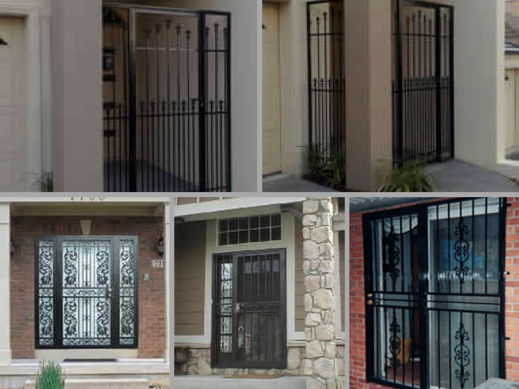 Install Security Doors To Protect Your Home From Intruders