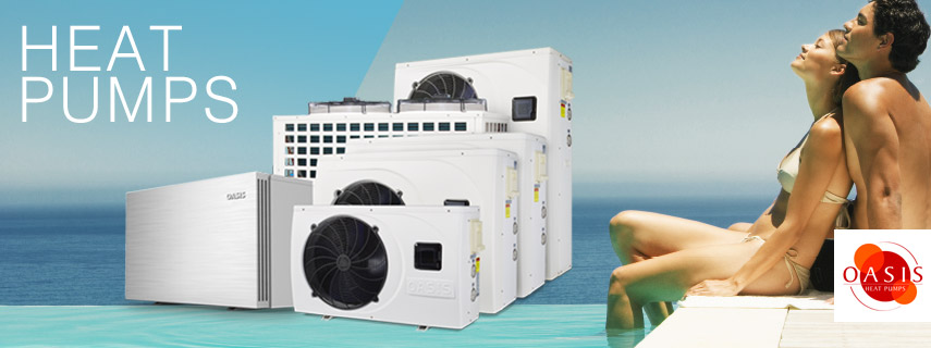 What is the use of the heat pump at the swimming pool
