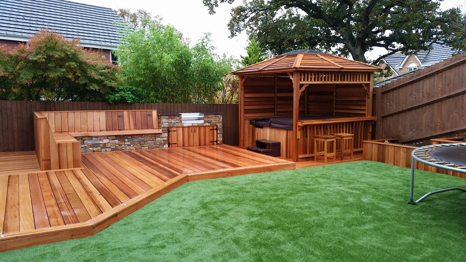 2 tips related to outdoor decking analysis that you should for Garden decking designs pictures