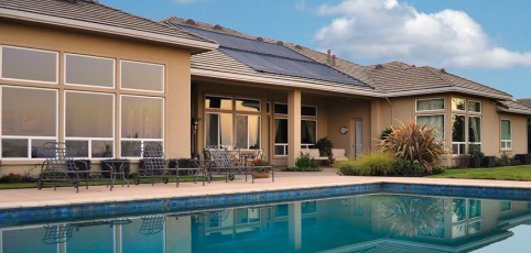 Enjoy all-season pool bathing with solar pool heating