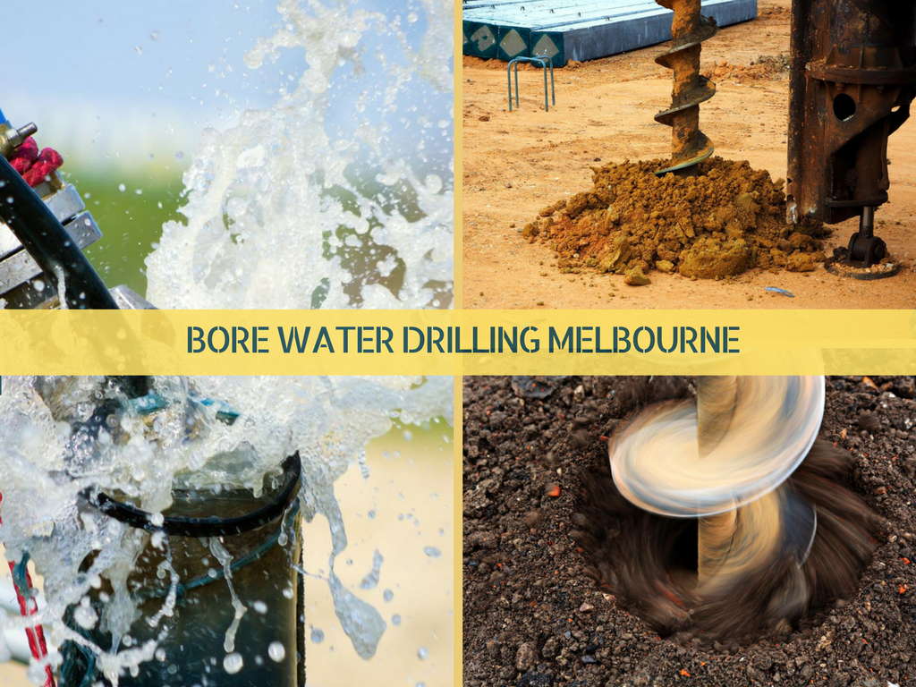 Bore water drilling Melbourne – strategies you want to recognize