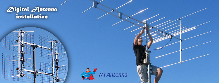 The masters in installing Digital TV Antenna in Brisbane