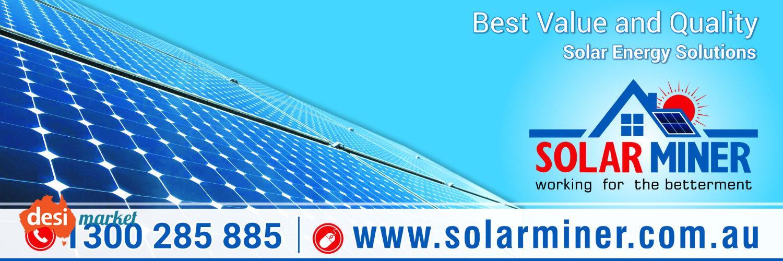 Commercial Solar System Brisbane – Solar Miner