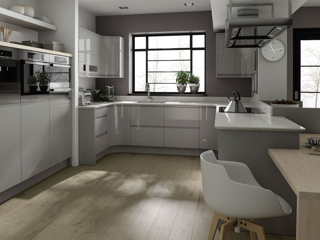 Are Grey Kitchen Area Closets Much Better Compared To White?