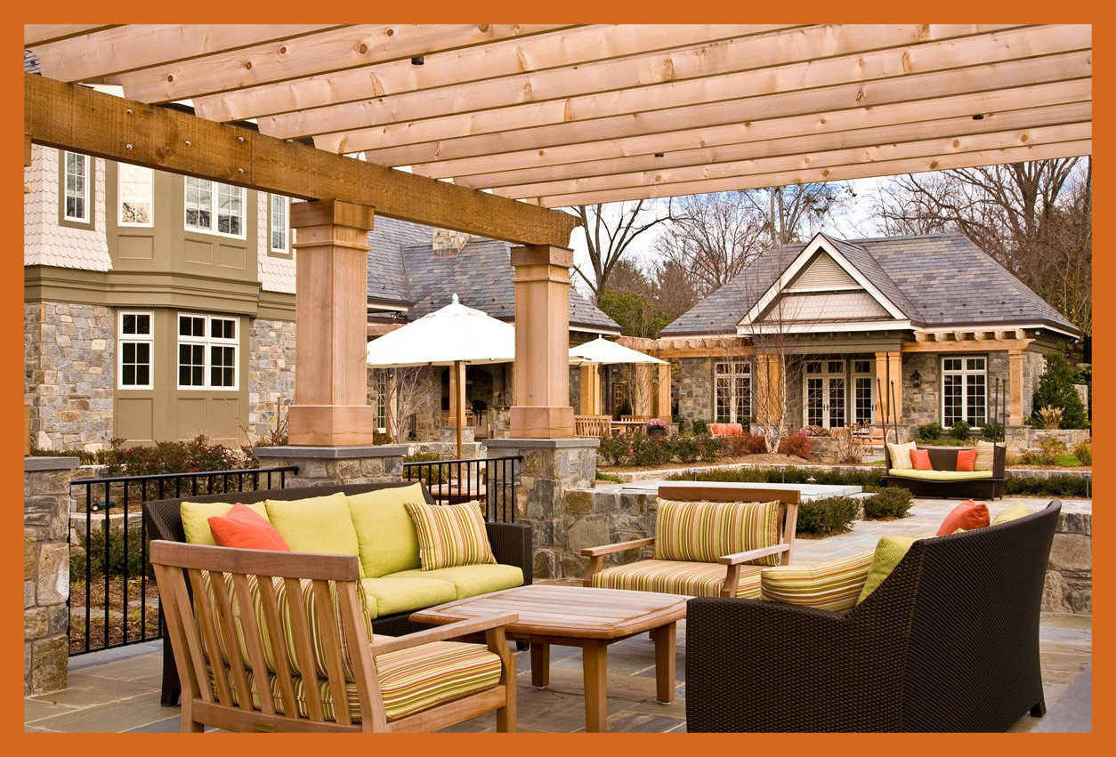 Transform Your Garden into an Outdoor Living Room with a Pergola