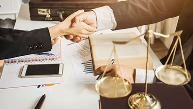 The working process of the corporate lawyers