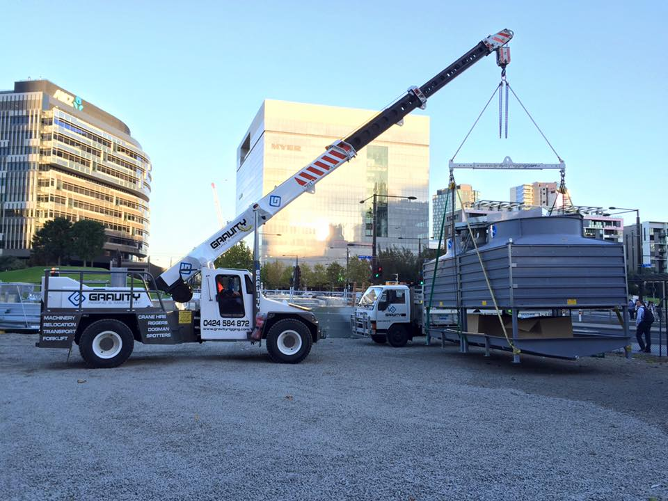 How does Mobile Crane Hire Melbourne help the construction industry?