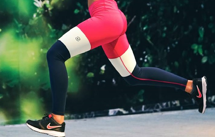 A Runner's Best Buddy with Comfort Compression Leggings