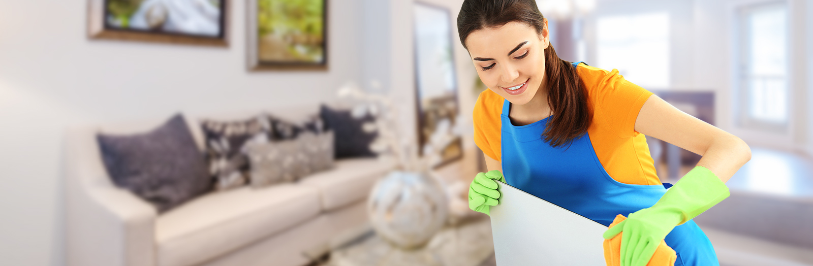 How important it is to involve a professional into home cleaning?