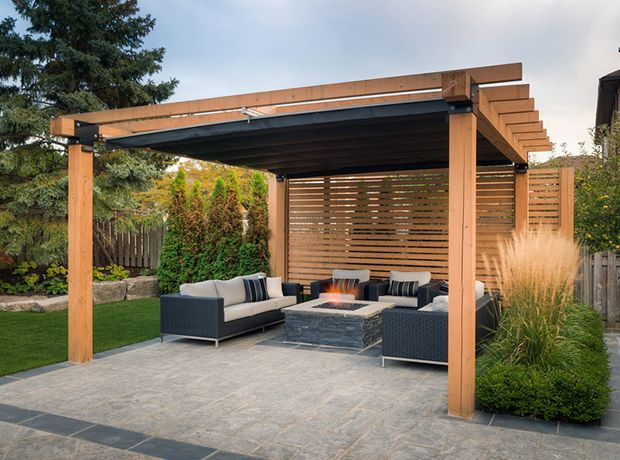 How Do Pergolas Help to Beat The Cold in Winter?