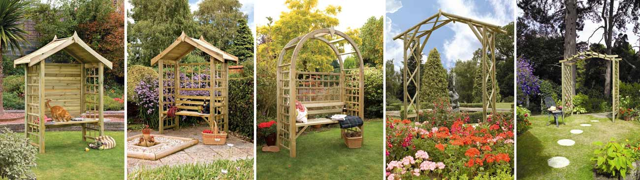 Love Your Outdoor: Go For The Pergolas And Deck