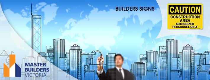 builders signs