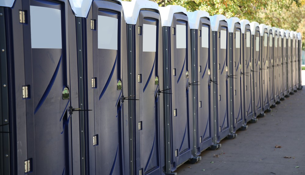 What location is the need for a Portable Toilet?