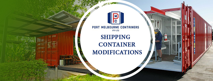 Shipping container modifications Sydney