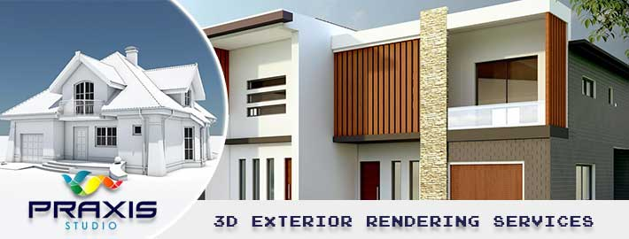 How 3D exterior rendering make a big impact on the business?