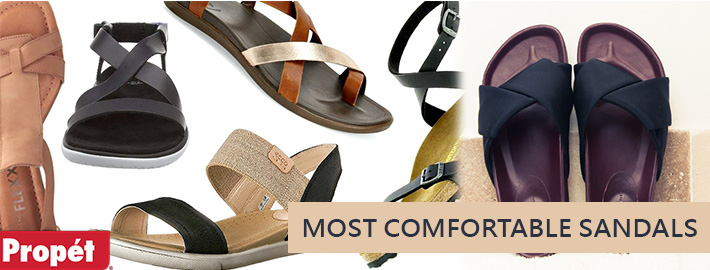 Where To Stop Your Search Of The Most Comfortable Sandals?
