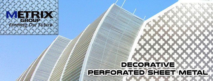 Choose decorative perforated sheet metal for your next architectural Project