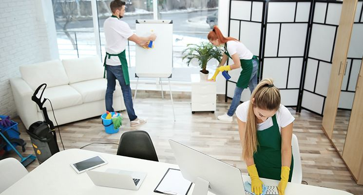 How Is Health Relatable To The Office Cleaning?