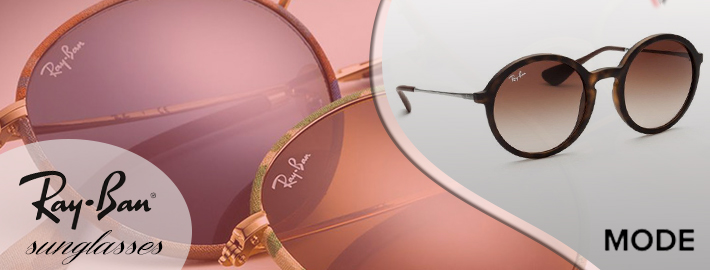 Choose favorite pairs of Ray-Ban Sunglasses from the summer collection
