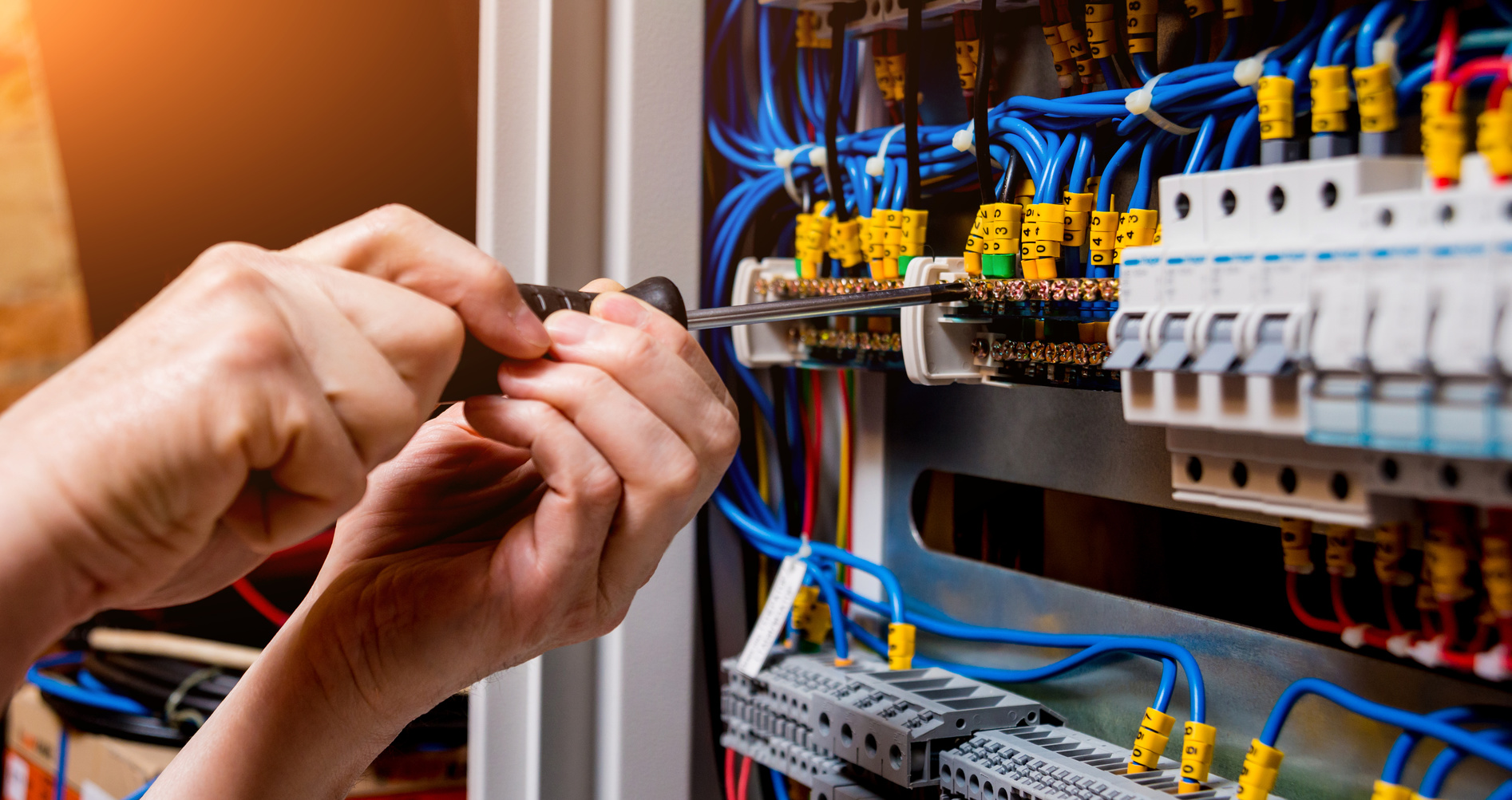 What renders electrician service to have a safe platform